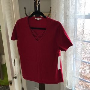 e9060ff502 Mercer St. Studio cotton knit top. NWT. Large